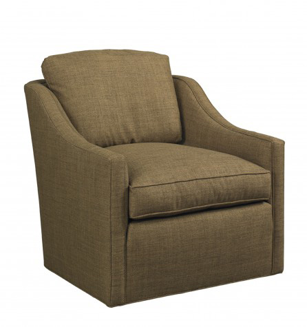 Mr. and Mrs. Howard by Sherrill Furniture - Ovolo Swivel Chair - SWH414C