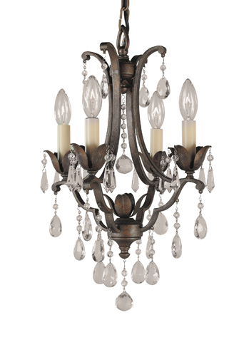 Feiss - Four - Light Mini Duo Chandelier - F1881/4BRB