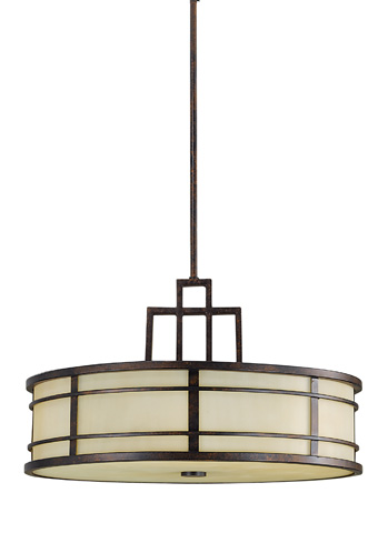 Feiss - Three - Light Shade Pendant - F2081/3GBZ
