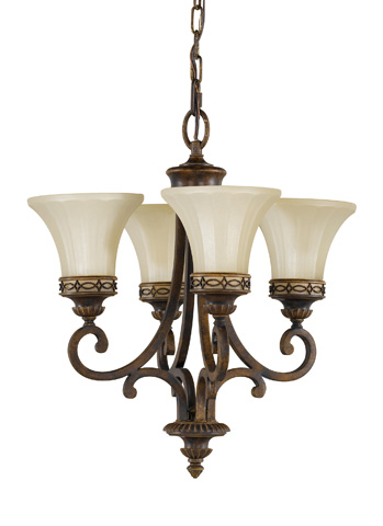 Feiss - Four - Light Mini Chandelier - F2221/4WAL
