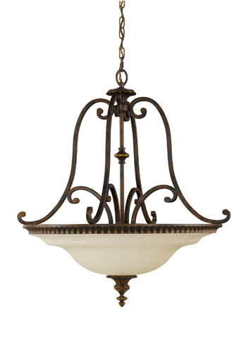 Feiss - Four - Light Uplight Chandelier - F2222/4WAL