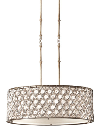 Feiss - Three - Light Shade Pendant - F2569/3BUS