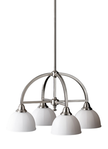 Feiss - Four - Light Kitchen Chandelier - F2582/4BS