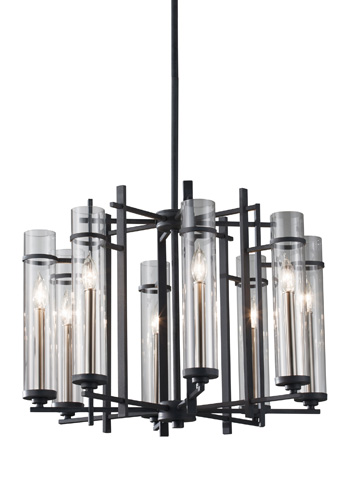Feiss - Eight - Light Single Tier Chandelier - F2628/8AF/BS