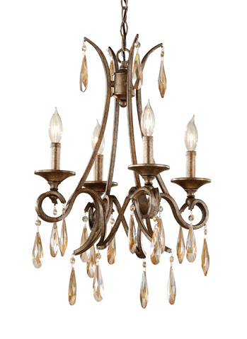 Feiss - Four - Light Single Tier Chandelier - F2637/4GIS
