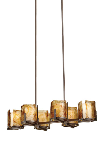 Feiss - Six - Light Island Chandelier - F2690/6RBZ