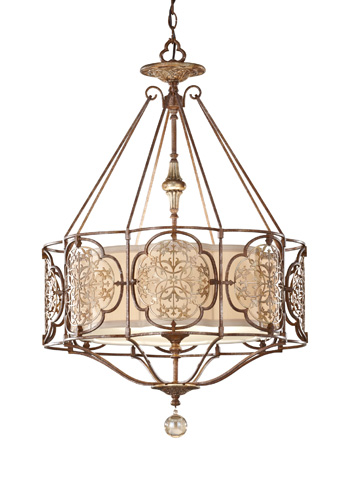 Feiss - Three - Light Large Pendant - F2697/3BRB/OBZ