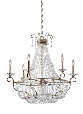 Feiss - Six-Light Chandelier - F2708/6BUS