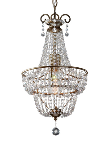 Feiss - One-Light Chandelier - F2709/1BUS