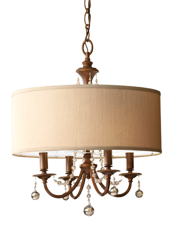 Feiss - Four-Light Chandelier - F2727/4FG