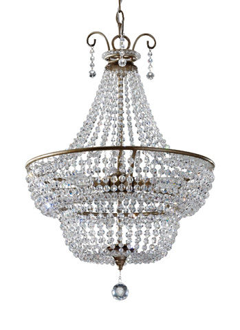 Feiss - Three-Light Chandelier - F2743/3BUS