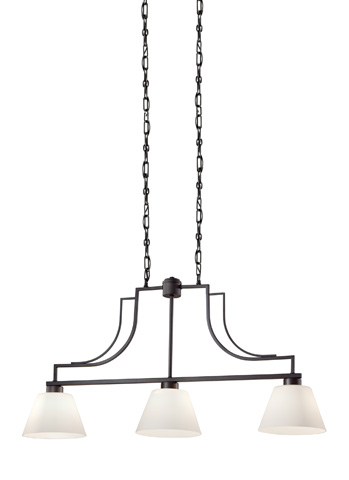 Feiss - Three - Light Chandelier - F2762/3CI