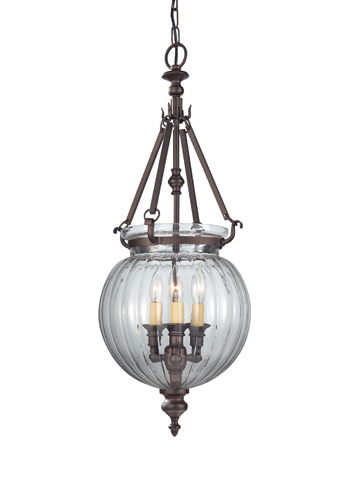 Feiss - Three - Light Hall Chandelier - F2800/3ORB