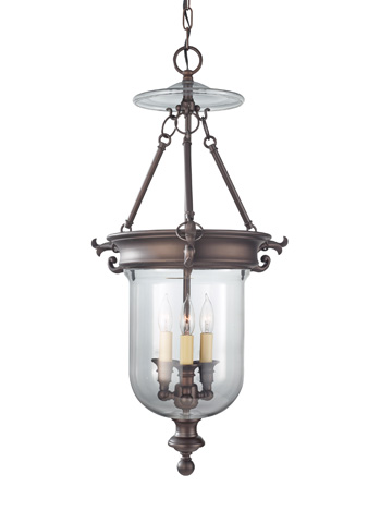 Feiss - Three - Light Hall Chandelier - F2802/3ORB
