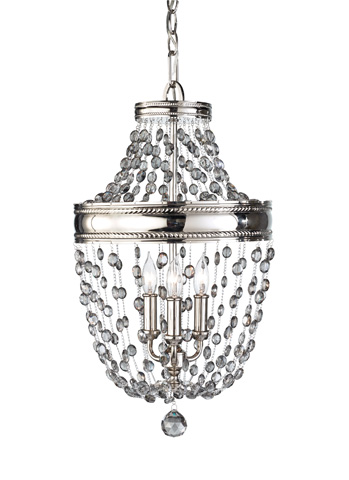 Feiss - Three - Light Mini Chandelier - F2812/3PN