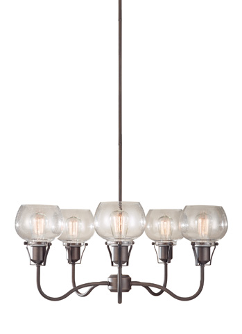 Feiss - Five - Light Urban Renewal Chandelier - F2824/5RI