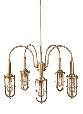 Feiss - Five - Light Urban Renewal Chandelier - F2826/5DAB