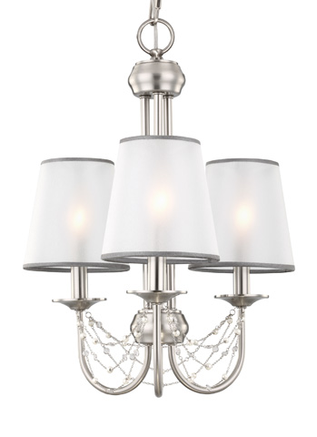 Feiss - Three - Light Aveline Mini Chandelier - F2918/3BS