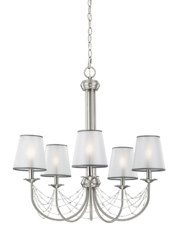 Feiss - Five - Light Aveline Chandelier - F2919/5BS