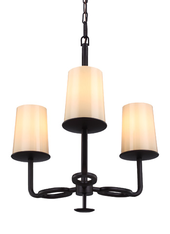 Feiss - Three - Light Huntley Chandelier - F2923/3ORB