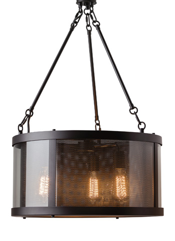 Feiss - Three - Light Bluffton Chandelier - F2929/3ORB