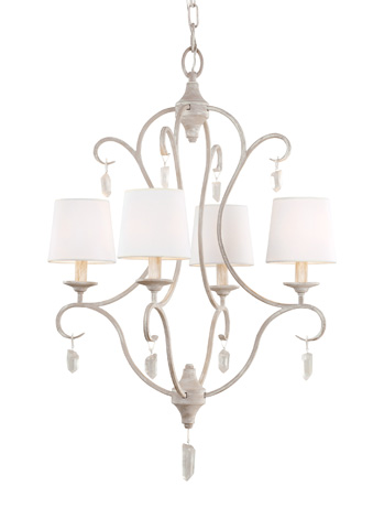 Feiss - Four - Light Caprice Chandelier - F2932/4CHKW