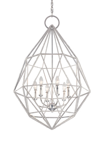 Feiss - Six - Light Marquise Chandelier - F2942/6SLV