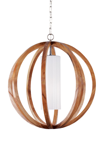 Feiss - One - Light Allier Large Pendant - F2952/1LW/BS