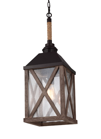 Feiss - One - Light Lumiere' Chandelier - F2956/1DWO/ORB