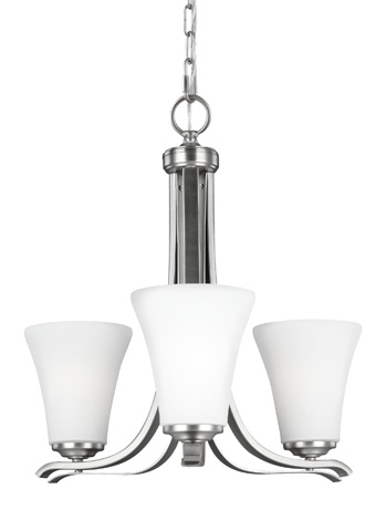 Feiss - Three - Light Chandelier - F2977/3SN