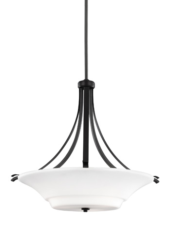Feiss - Three - Light Uplight Pendant - F2983/3ORB