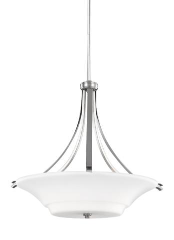 Feiss - Three - Light Uplight Pendant - F2983/3SN