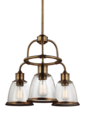 Feiss - Three - Light Chandelier - F3020/3AGB