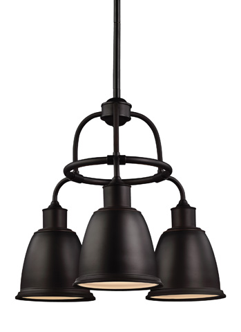 Feiss - Three - Light Chandelier - F3022/3ORB