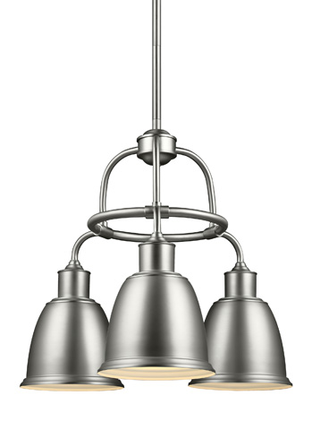 Feiss - Three - Light Chandelier - F3022/3SN