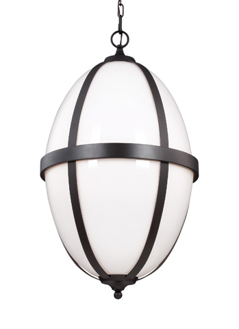 Feiss - Three - Light Pendant - F3057/3ORB