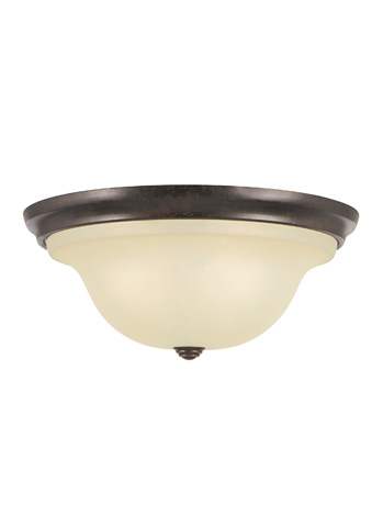 Feiss - Two - Light Indoor Flush Mount - FM251GBZ