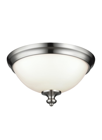 Feiss - Two - Light Parkman Flush Mount - FM397BS