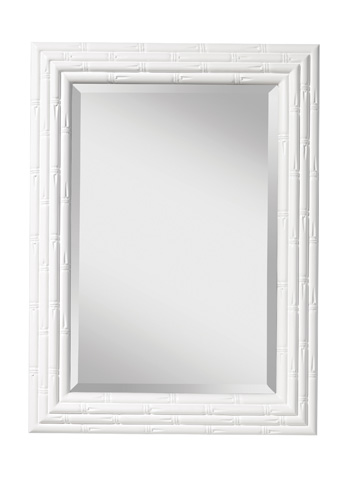 Feiss - Hi Gloss White Mirror - MR1181HGW