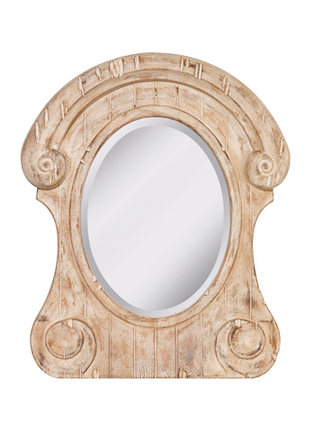Feiss - Distressed Ivory Mirror - MR1184DI