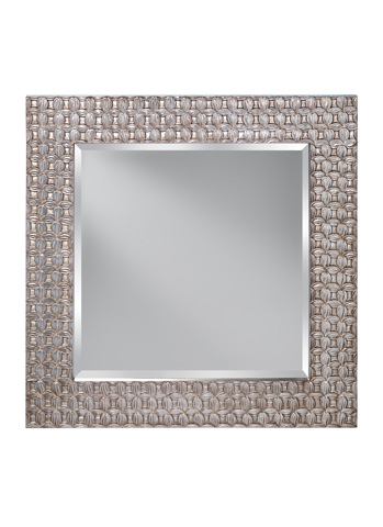 Feiss - Antique Silver Leaf Mirror - MR1199ASLF