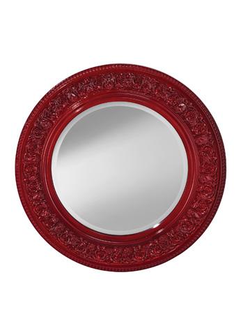 Feiss - Crimson Lacquer Mirror - MR1201CRML