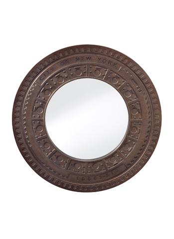 Feiss - Steel Mirror - MR1203STL