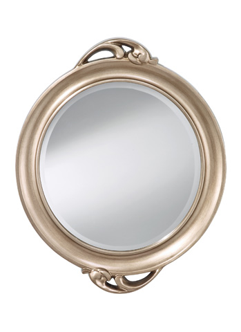 Feiss - Antique Silver Leaf Mirror - MR1207ASLF
