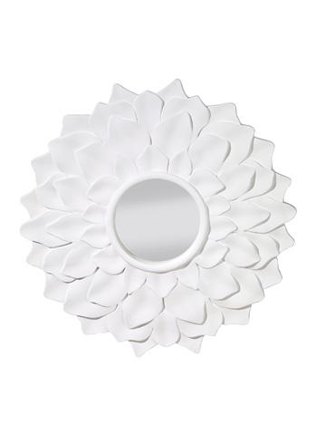 Feiss - Hi Gloss White Mirror - MR1216HGW