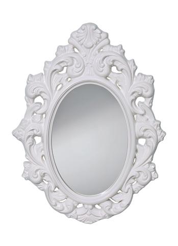 Feiss - Hi Gloss White Mirror - MR1226HGW