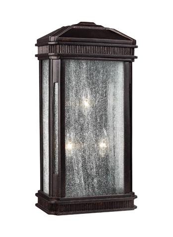 Feiss - Three - Light Outdoor Sconce - OL10802GBZ