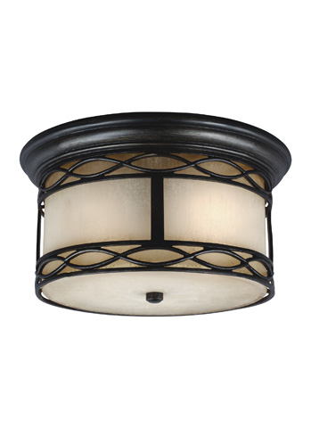 Feiss - Two - Light Outdoor Flush Mount - OL10913ABR
