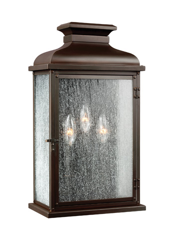 Feiss - Three - Light Outdoor Sconce - OL11102DAC