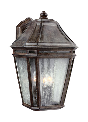 Feiss - Three - Light Outdoor Sconce - OL11302WCT